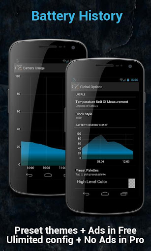 gauge-battery-widget for android screenshot