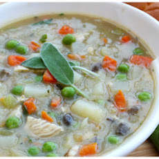 Turkey Pot Pie Soup Print