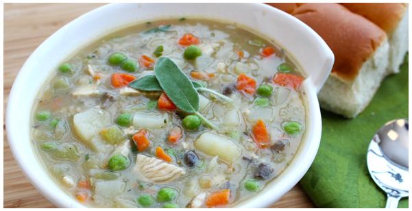 Turkey Pot Pie Soup Print Recipe | Yummly