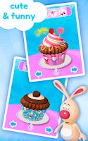 Screenshot of Cupcake Kids - Cooking Game