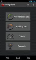 Screenshot of Racing Tester