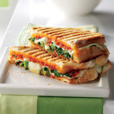 Broccoli Rabe-and-Provolone Panini