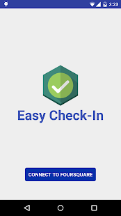 Easy Check-In for Foursquare - screenshot