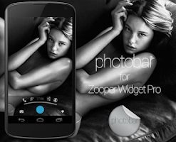 Screenshot of photobar for Zooper Widget