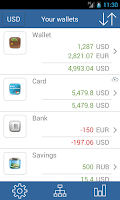 Screenshot of My wallets - Free