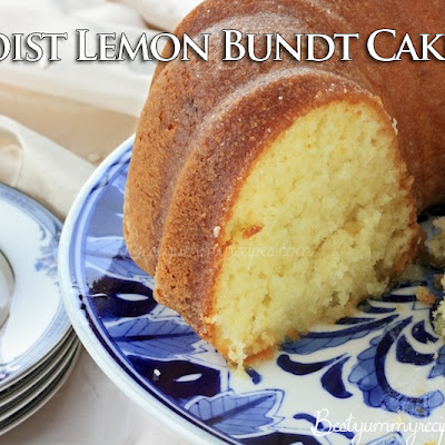 Moist Lemon Bundt Cake