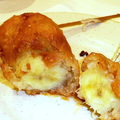 Grand Marnier Deep-Fried Bananas