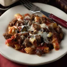 Baked Ziti with Johnsonville Italian Sausage