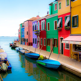 Burano by Pietro Ebner - City,  Street & Park  Historic Districts (  )