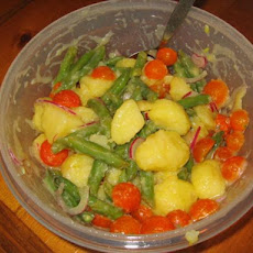 Potato, Cherry Tomato and Green Bean Salad