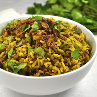 Middle Eastern Rice (Mejadra)