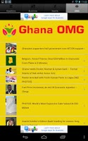 Screenshot of Ghana News