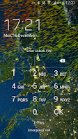 Screenshot of MeteoEarth
