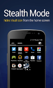 Vault-Hide SMS, Pics & Videos- screenshot thumbnail