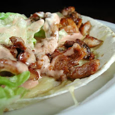 Mexican Chicken Wrap * Chicken Fajita * Applebee's Copycat