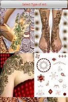 Screenshot of Mehndi-Body Art