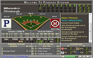 Screenshot of Sim Dynasty Baseball