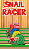 Screenshot of Snail Racer