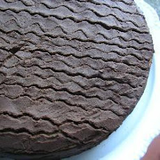 Three-Layer Chocolate Cake