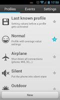 Screenshot of Smart Settings