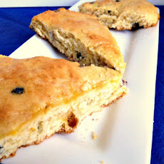 Meyer Lemon Blueberry Scones Adapted from Mary Beth Manfredini