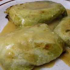 Swedish Cabbage Rolls-Kaldolmar