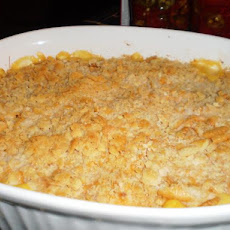 Buffalo Chicken and Rice Casserole