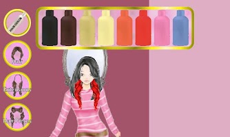 Screenshot of A-List Girl: Hair Salon ★