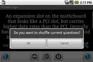 Screenshot of CompTIA Server+ Flashcards