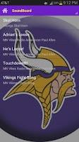 Screenshot of MN Vikings Horn & Soundboard