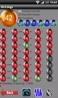 Screenshot of Hit 6 bingo