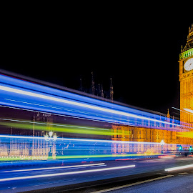 UK Houses of Parliment by Steve Dormer - Buildings & Architecture Public & Historical ( london, night photography )