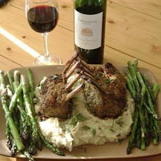 Dijon Roast Rack Of Lamb