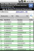 Screenshot of Beisbol Profesional Venezuela