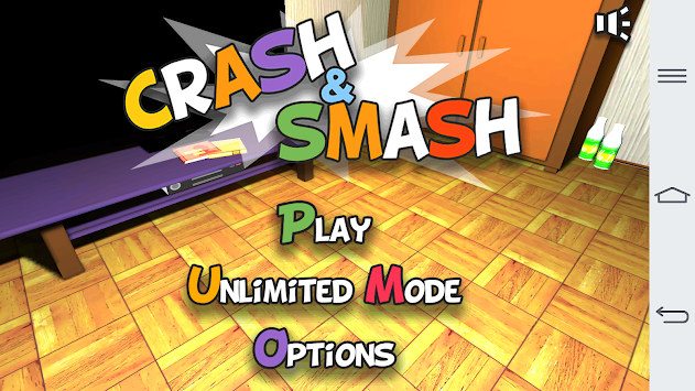 Crash and smash apk screenshot
