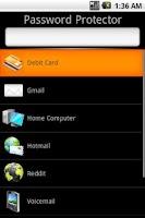Screenshot of Password Protector