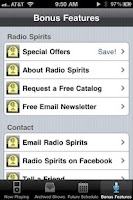 Screenshot of Radio Spirits