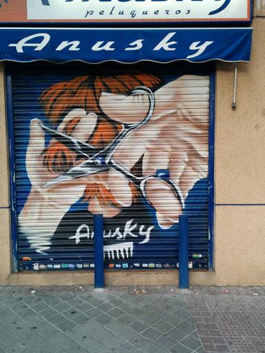 Grafiti Anusky
