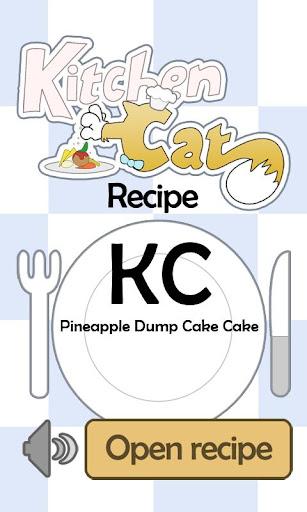 KC Pineapple Dump Cake Cake