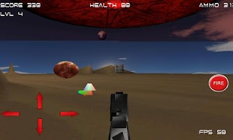 Screenshot of Alien Strike 3D