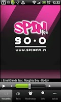 Screenshot of SpinFM 90.0 Latvia