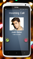 Screenshot of Justin Bieber Best Call Prank