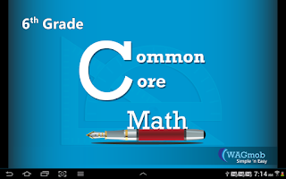 Screenshot of 6th Grade Common Core Math