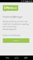 Screenshot of Offerta.se