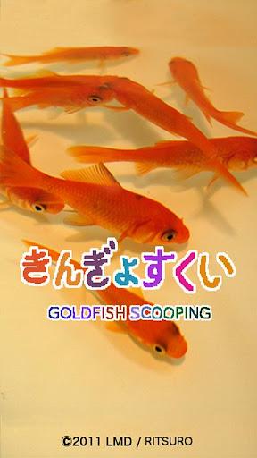 goldfish scooping β