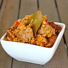 Pork and Sausage Jambalaya