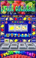 Screenshot of Fruit Cocktail Slots