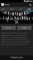 Screenshot of Victory Church Amarillo