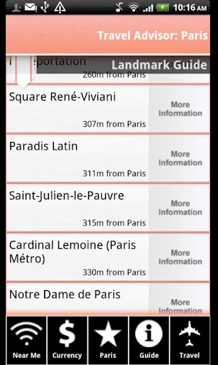 【免費旅遊App】Travel Advisor: Pairs-APP點子