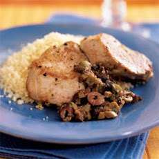 Pork Tenderloin with Olive-Mustard Tapenade